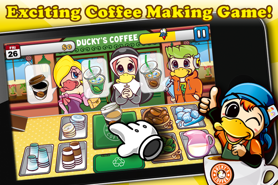 Screenshot Ducky's Coffee