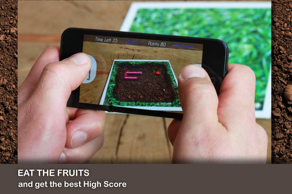 Screenshot Worm AR – Augmented Reality Game